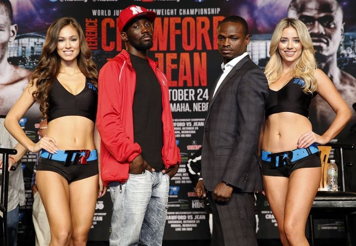 Here is Potshot Boxing's (PSB) Prediction for the upcoming WBO lightweight fight between Terence Crawford and Dierry Jean. http://snip.ly/1YWg