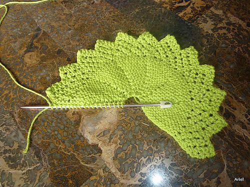 Ravelry: Knitted Lacy Round Cloth pattern by Rhonda White