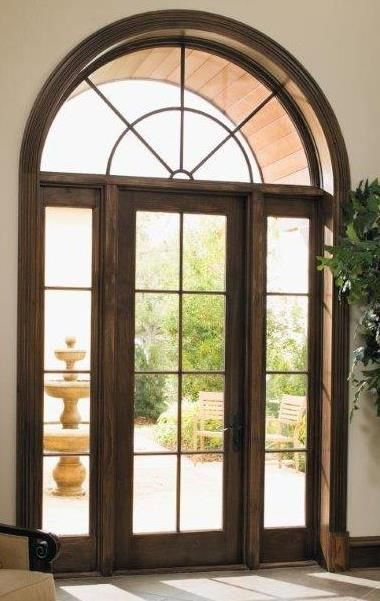 Pellau0027s Architect Series Hinge Patio Door With Sidelights And Transom.  Www.pellanorcal.com
