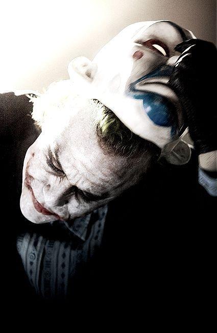 heath ledger joker mask | Heath Ledger Joker Scars