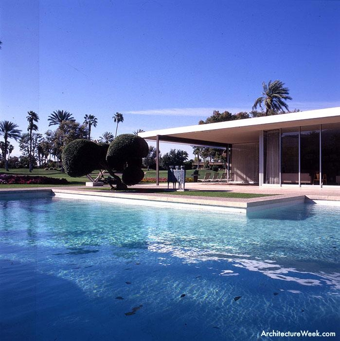 California Map Rancho Mirage%0A Destroyed  The      Maslon House in Rancho Mirage  California by Richard  Neutra