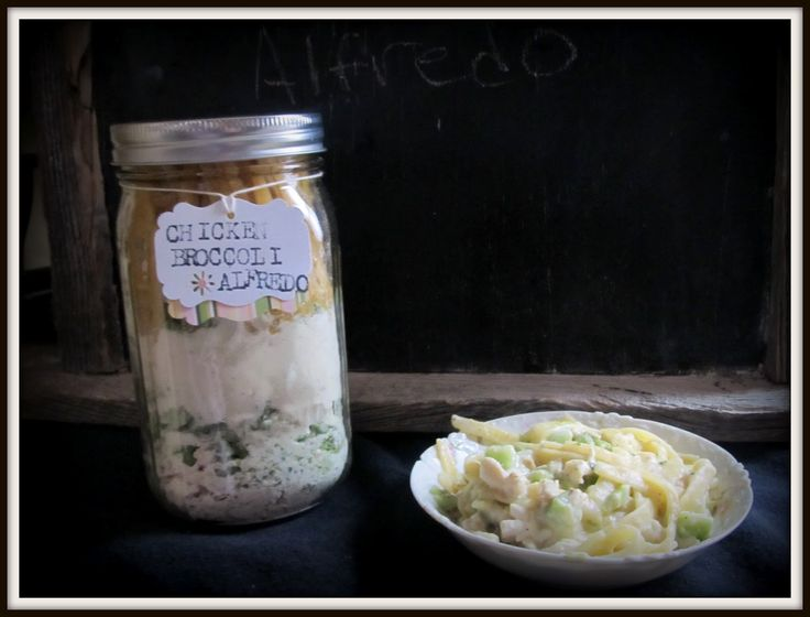 Chicken Broccoli Alfredo Dehydrated Meal In A Jar Recipe – 10 Bonus Recipes » The Homestead Survival