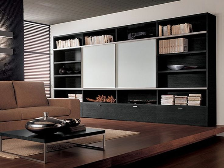 Interior Trendy Luxury Living Room Tv Unit Design Ideas Larger Bookcases Stun