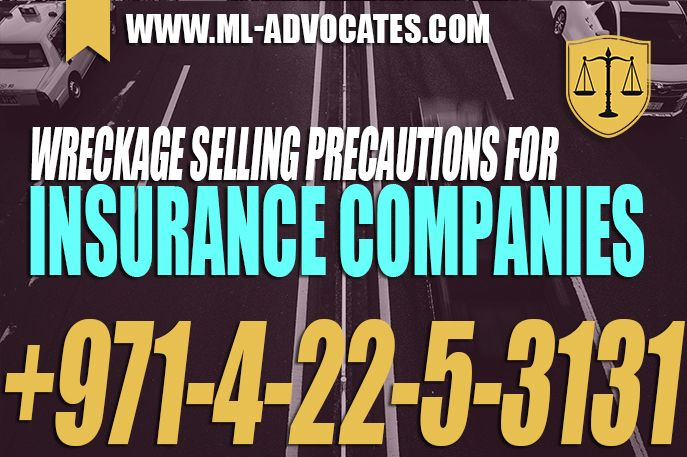 Wreckage Selling Precautions For Insurance Companies Insurance