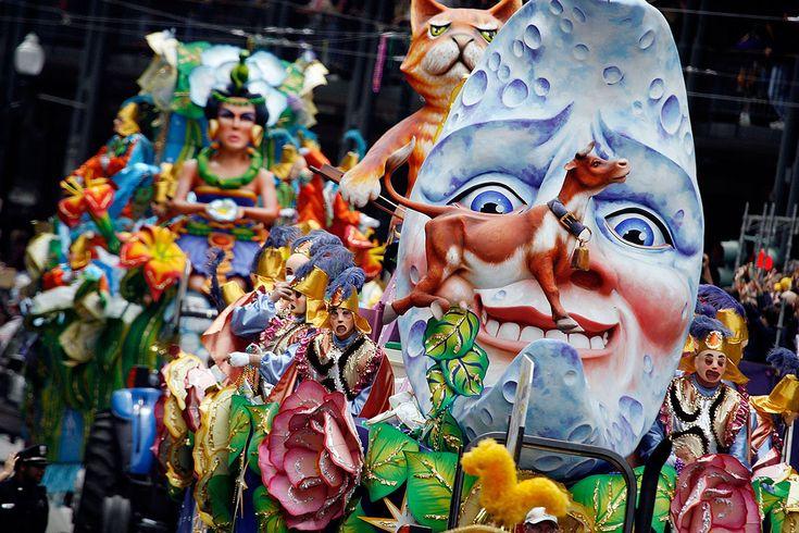 Карнавал Марди Гра в Новом Орлеане