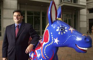 JERC, Ronnie Klain, with his pet Jackass. Celebrating his new job as Ebola Czar? When there already is one named Dr. Nicole Lurie who, unfortunately, was caught diverting $500,000,000 to Obama pal Ronald Perelman? She has been MIA since she was caught but is most likely still being paid her regular salary. That is the Obama Way after all.