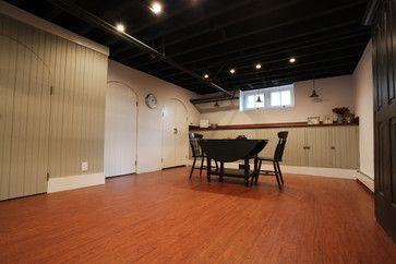 industrial basement designs exposed basement ceiling http www