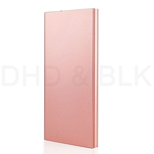 #US Stock Rose Gold Ultra Thin 20000mAh Portable External Battery Charger Power Bank for Cell Phone