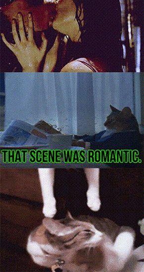 Spiderman romantyczna scena