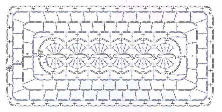 Crochet Rectangle Motif ⋆ Crochet Kingdom