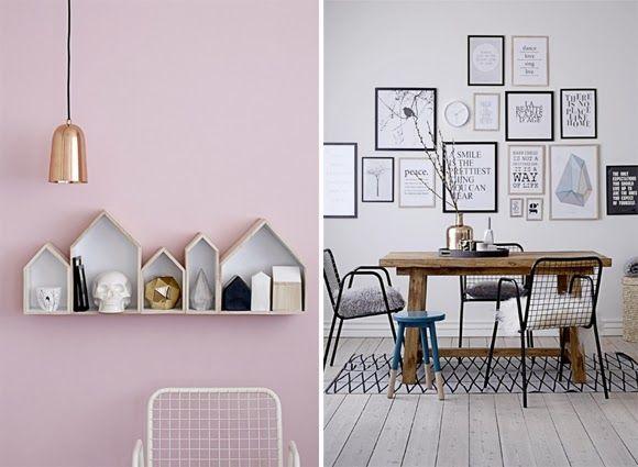 Decoration: Bloomingville at Debenhams shelf on the left #wallart #decoration