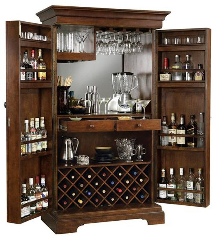 Best 25+ Home bar cabinet ideas on Pinterest | Mini bar at home ...