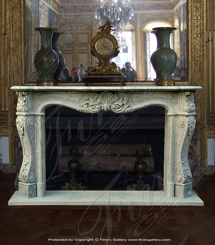 Marble Fireplaces – Elegant French-Style Marble Fi…