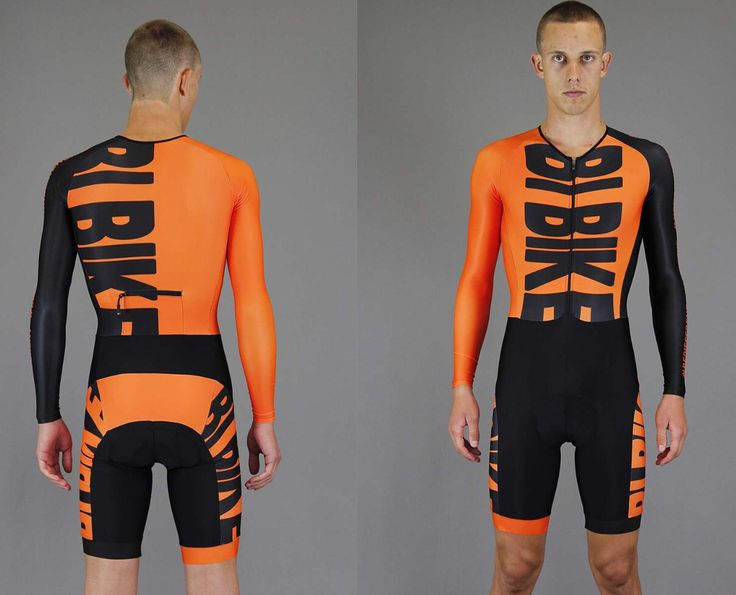 Great skinsuit by bi-Bike! #orangeisthenewblack