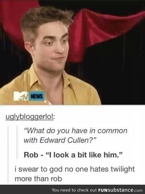 What do you have in common with Edward Cullen