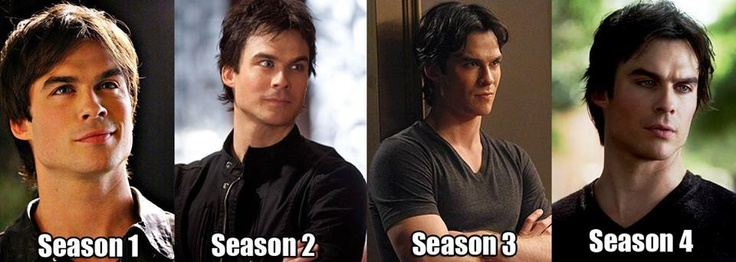 Ian Somerhalder....if it is possible, I think he is getting better with age.