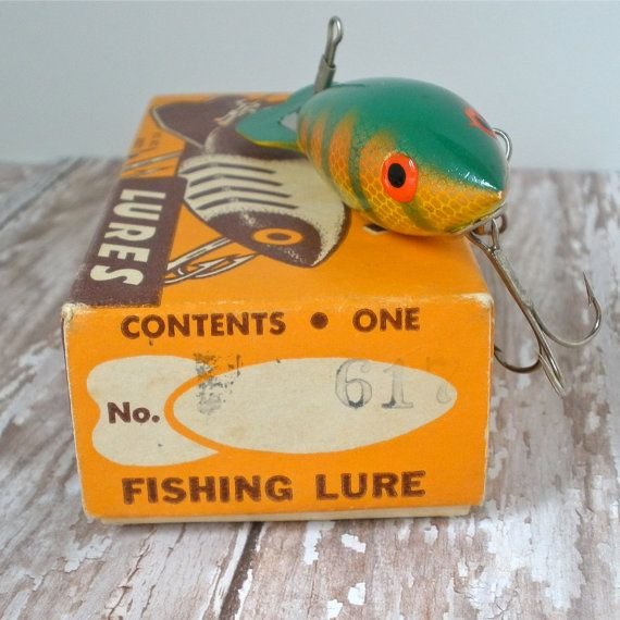 Vintage Bomber 617 Fishing Lure WIth Box and Paperwork on Etsy, $19.00