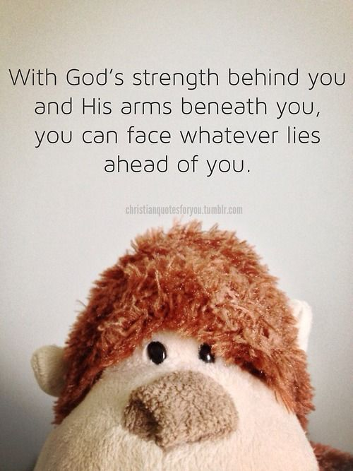 Be bold and courageous. You have a good and powerful God!