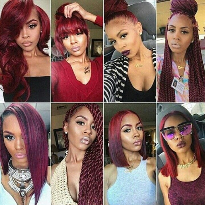 Best 25+ Red weave hairstyles ideas on Pinterest