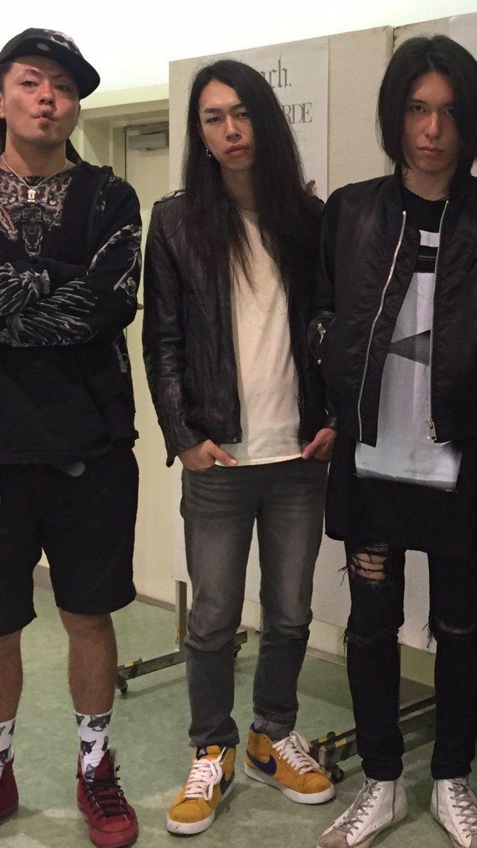 Asanao, Akinori, and Hazuki