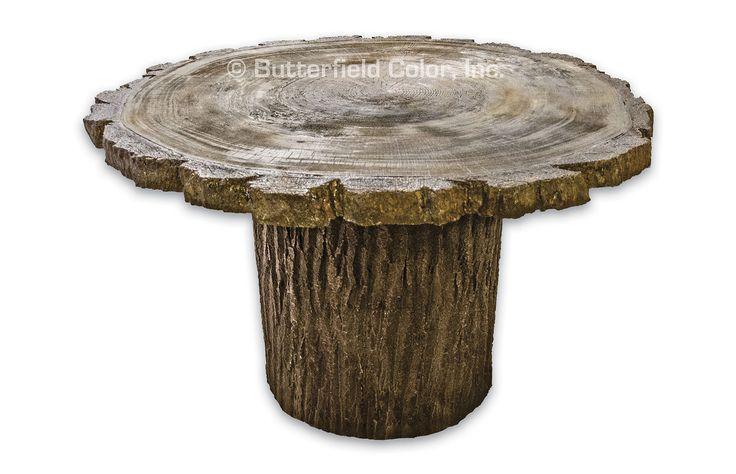 Product Num. Refer to description •The 4′ mold replicates the look of a cut log round •The molds can be poured with standard concrete, Flat Out® Countertop Mix, or a variety of other high strength concrete mix designs. •Legs work...