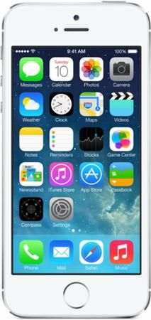 Apple iPhone 5S 16Gb silver (серебристый)  — 19990 руб. —  СОВЕРШЕНСТВО В ДЕТАЛЯХ Смартфон Apple iPhone 5s – это целый набор потрясающих технологий в удивительно тонком и легком металлическом корпусе. Датчик идентификации по отпечатку пальца Touch ID. A7 – первый мобильный процессор с 64-битной архитектурой. Улучшенная, еще более впечатляющая камера iSight. И сверхскоростная беспроводная связь. НОВЫЙ СТАНДАРТ УДОБСТВА  создала смартфон, сочетающий в себе самые передовые технологии, толщиной…