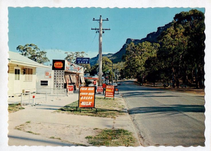 E2081cgt Australia V The Grampians Halls Gap NCV vintage postcard | eBay
