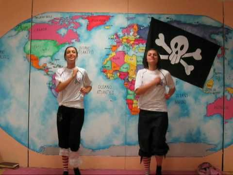 rivisitazione del popolarissimo gioca jouer abbinato al tema piratesco