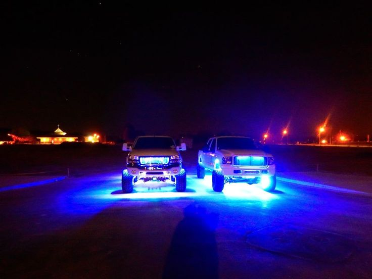 Best Used Trucks >> Truck/Car LED Underglow USA Made Waterproof | Jacked up trucks, Led lights for trucks, Pickup trucks