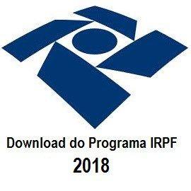 Programa IRPF 2018 - Receita libera o download do programa