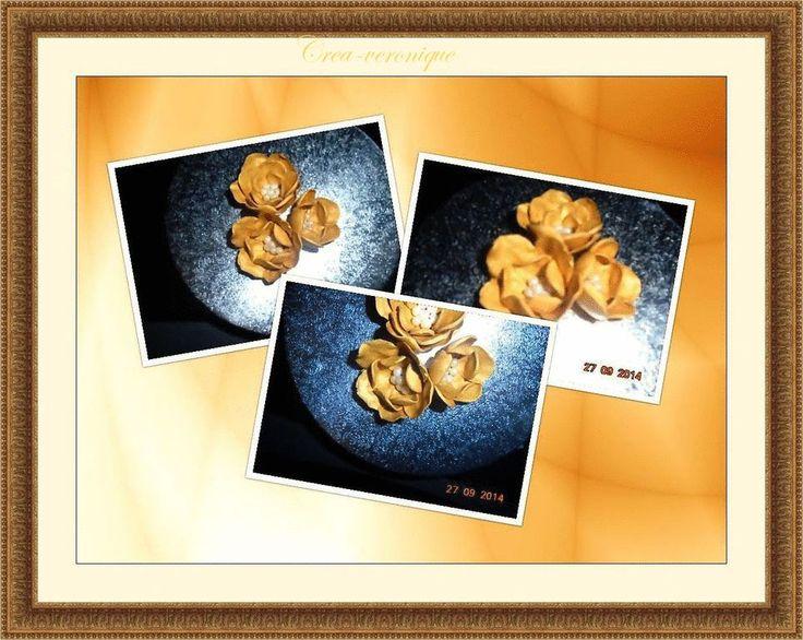 Gouden bloemen