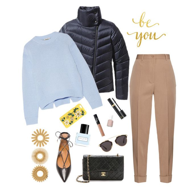 """#4"" by heelsandgo on Polyvore featuring Aquazzura, Patagonia, Bottega Veneta, Acne Studios, Marc Jacobs, NARS Cosmetics, Essie, Christian Dior, Dolce&Gabbana and Tom Ford"