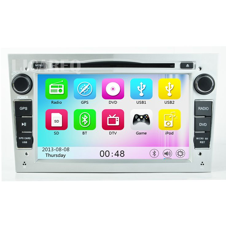 Car DVD Player For Opel Astra H Vectra Corsa Zafira B C G Car radio stereo tape recorder with GPS Navigation 3G wifi USB Silver