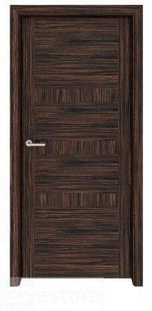 Utilize this door as a grand entranceway from foyer to living area, or to accent a room with coffered ceilings   #ebony #interior #room #doors