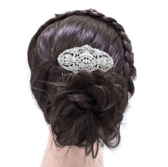 les 19 meilleures images propos de barrettes cheveux mariage sur pinterest coiffures. Black Bedroom Furniture Sets. Home Design Ideas