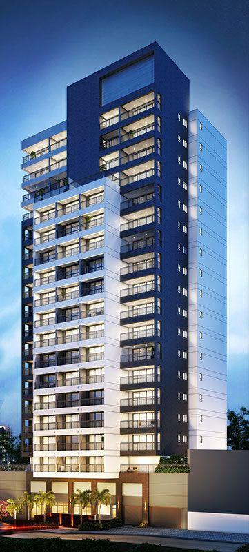 M s de 25 ideas incre bles sobre edificios en pinterest for Fachadas de edificios modernos