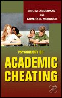 This article discusses the factors that can contribute to academic dishonesty.  It discusses what can lead to cheating and why certain individuals choose to d so.  The article also provides information on how to help fight against academic dishonesty.  I believe this article is relevant because understanding the reasoning and stress behind academic dishonesty is one of the first steps in advocating against it. (0351)