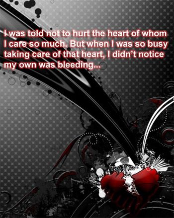 32 best Dark Broken Heart Quotes images on Pinterest ...