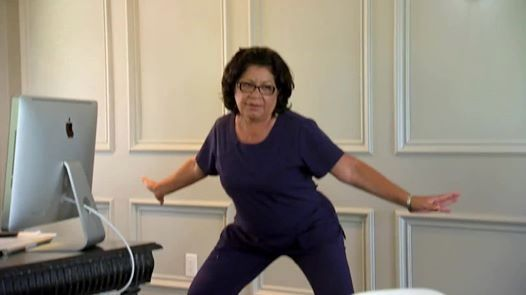 Zoila Chavez flipping out