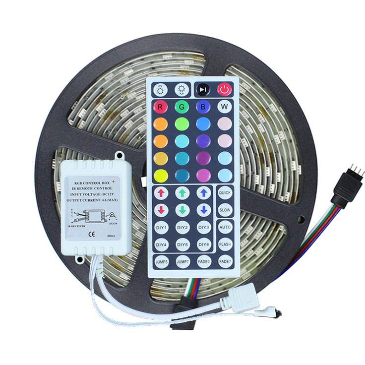 Model Of 5 M LED Bande Lumi¨re 5050 RVB 5 M 150 Led étanche IP65 DC12V RGB avec For Your House - Inspirational lumiere lighting New Design