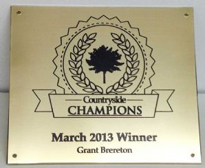 Online Sign Maker | Top Quality Engravers Brass - Thick Brass Plaques - Business Plaques
