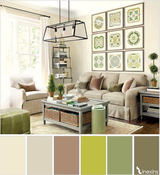 Lujo Combinar Colores Para Salon Adorno Ideas de Decoracin de