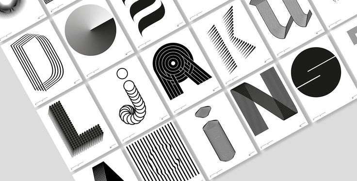 Inspired by type legends, Louis Mallart created a whimsical animated alphabet.