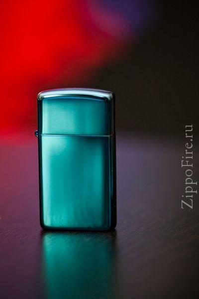 Zippo Slim Sapphire