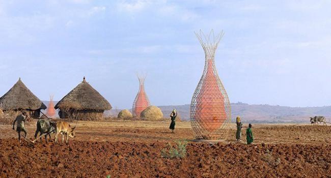Su kıtlığına yeni bir çözüm: Havadan su üreten kuleler