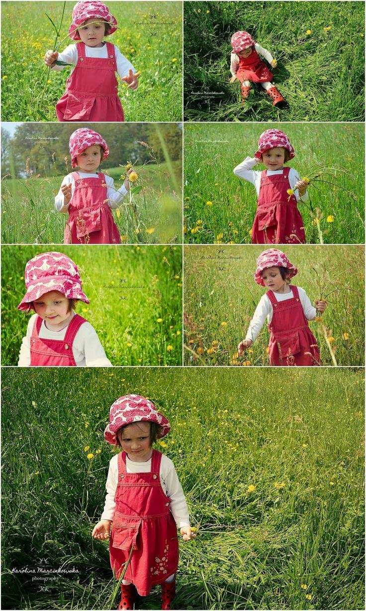 Aleksandra - child portrait in spring