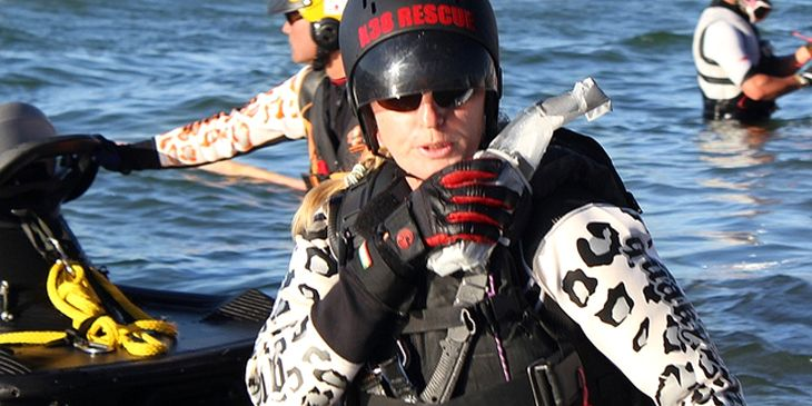 EPISODE 5: SHAWN ALLADIO, WORLD CLASS HUMAN:  Ever wondered if a 50 year old mother of two could do a man's job? Listen in as we talk with Shawn Alladio, world class PWC rider (Jetski for the uninitiated), big wave rescue specialist, and all around tough human. Shawn talks about big waves, heavy threats, and what it feels like to pull a man out of a burning car.