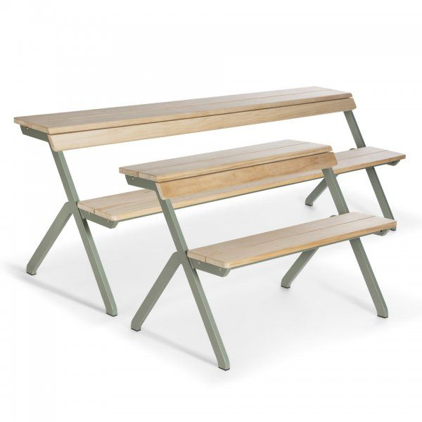 Picknick Tafel En Bank Ineen.Tablebench 4 Seater Weltevree Tafel Bank En Picknicktafel In