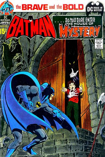 Brave and Bold 093 Batman House of Mystery cover by Neal Adams