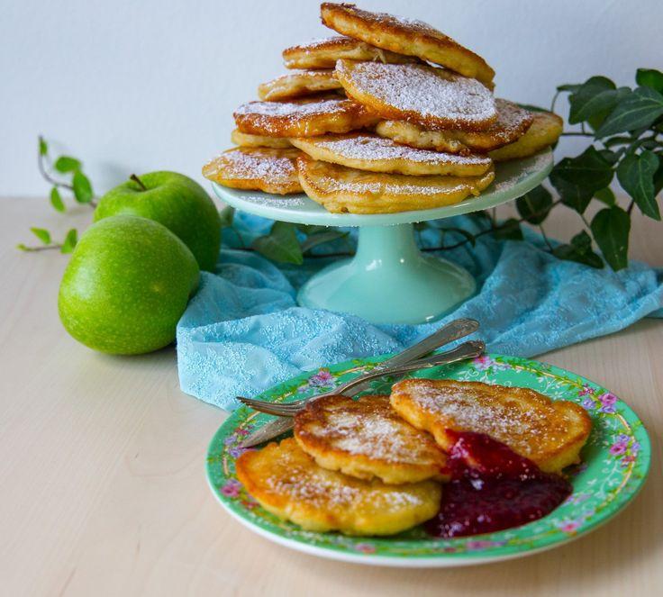 Polska pannkakor med äpple